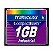 Transcend Industrial Ultra Speed CF Card 1GB CompactFlash memory