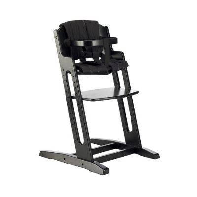 BabyDan DanChair High Chair Black With Black Cushion