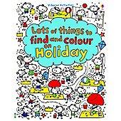 Usborne Find and Colour on Holiday Activity Book