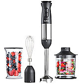 VonShef 800W 3 in 1 Hand Blender - Matte Black