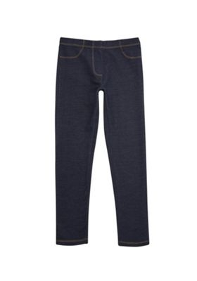 F&F Denim Leggings Dark Wash 5-6 years