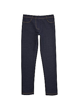 F&F Denim Leggings - Dark wash
