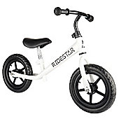 Ride Star Balance Bike - White