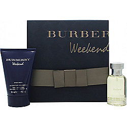 Burberry Weekend Gift Set 50ml EDT + 100ml All Over Shampoo For Men