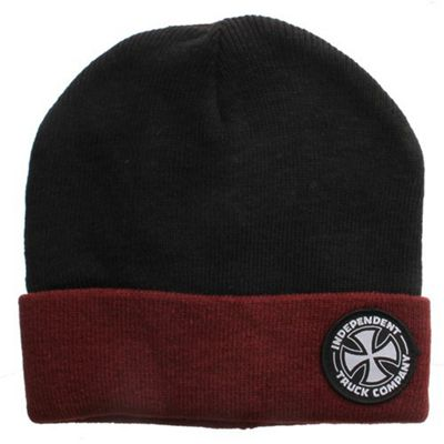 Independent Beanie ITC - Black/Oxblood