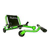 Ezy Roller Classic No-Pedal Snake Kart Green