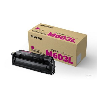Samsung CLT-M603L Laser toner 10000pages Magenta & cartridge