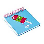 Tinc Lolly design lined paper Jotter Pad - Blue/Pink