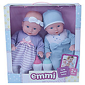 Emmi Cute Cuddle Twins