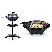 Electric BBQ Grill with Stand or use as a Table Top Barbecue