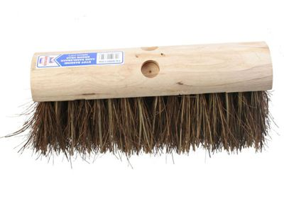 Faithfull Saddleback Broom Stiff Bassine / Cane 325mm (13 in)