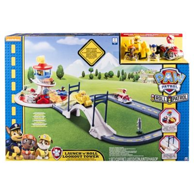 Paw Patrol Launch N Roll Lookout Tower Playset