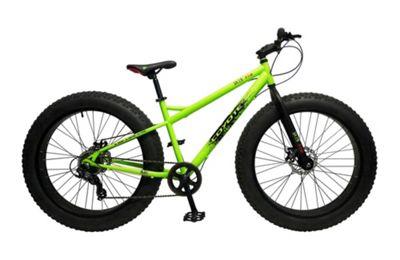 Coyote Skid Row 26 Inch Wheel Green Bike