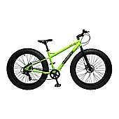 Coyote Skid Row 26 Inch Wheel Green Bike