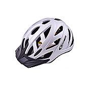 Ammaco Commuter In Mould Bike Helmet Silver 58-61cm