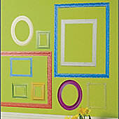 Colour Frames Wall Stickers