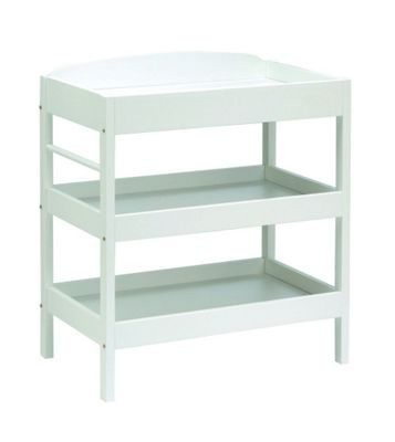 East Coast Clara Nursery Dresser, White