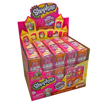 Shopkins Series 8 World Vacation 2-Pack - Case of 30 (Series 2 ASIA)