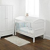 East Coast Country 2 Piece Nursery Room Set - White