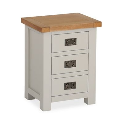 Daymer Grey Bedside - Bedside Table