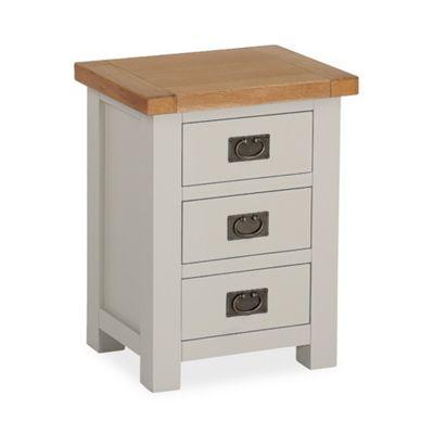 Daymer Grey Bedside - Bedside Table