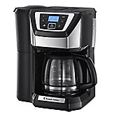 Russell Hobbs 22000 1025W Chester Grind & Brew Coffee Maker - Black/Silver