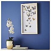 Fox & Ivy Gold Butterflies Wall Art