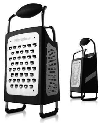 Microplane 4 Sided Box Grater with Handle 0934006