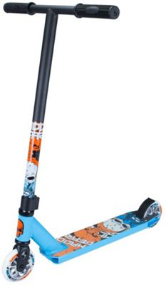 Madd Gear Madd Kick Nuked Pro Stunt Scooter - Sky Blue/Orange