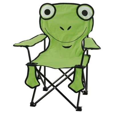Tesco Kids' Camping Chair, Frog