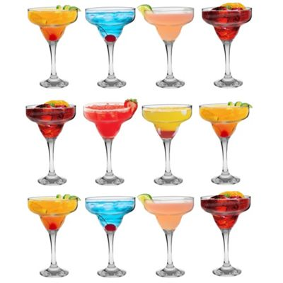 Margarita Cocktail Drinking Glasses In Gift Box - 295ml - x12
