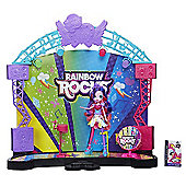 My Little Pony Equestria Rainbow Rocks Mane Event Stage Playset