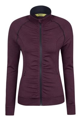 Mountain Warehouse IsoCool Dynamic Herringbone Womens Jacket ( Size: 8 )
