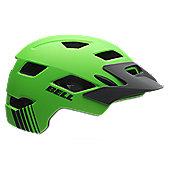 Bell Sidetrack Youths Helmet - 50-57cm, Green/Grey