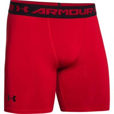 Under Armour HeatGear Armour Compression Baselayer Short Red, XL