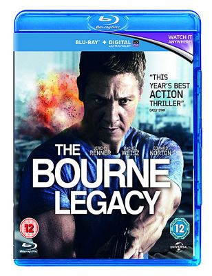 The Bourne Legacy (Blu-ray+E-Copy+ Ultraviolet)