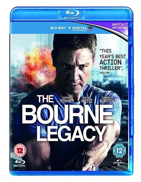 The Bourne Legacy (Blu-ray+E-Copy+ Ultraviolet)