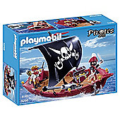 Playmobil 5298 Pirates Ship Skull & Bones Corsair
