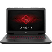 OMEN by HP 17-w205na, Intel Core i7-7700HQ, 16GB DDR4-2400 SDRAM, 1TB 7200 rpm SATA + 256GB PCIe NVMe M.2 SSD, Shadow mesh cover, twinkle black base