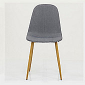 Halmstad Grey Fabric Dining Chair