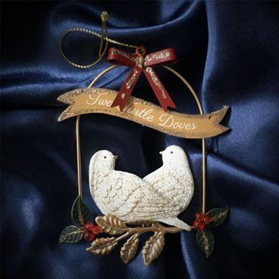 Turtle Dove Christmas Tree Decoration