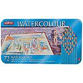 West Design Products Derwent Watercolour Tin 72 Pencils
