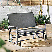 VonHaus 2 Seater Glider Bench - Garden Swinging Outdoor Rocker