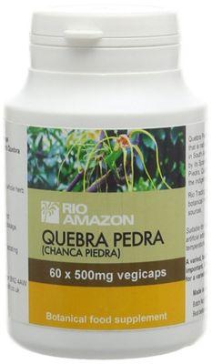 Rio Amazon Quebra Pedra 500mg - 60 Vegi Capsules