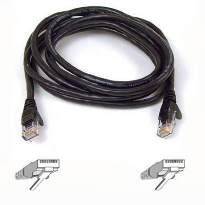 Belkin 0.5 m Cat5e Assembled UTP Patch Cable - Blue