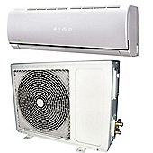 12000 BTU Panasonic powered easy-fit Inverter Wall Split Air Conditioner with 5 meters pipe kit and 5 years warranty