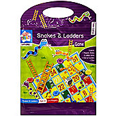 Kids Create Magnetic Snakes and Ladders Game