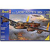 REVELL 1/72 AVRO LANCASTER MK.1/111