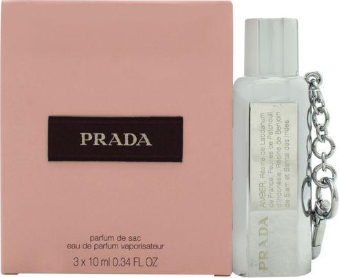 Prada Gift Set 10ml EDP Purse Spray + 2 x 10ml EDP Refill For Women