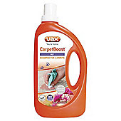 Vax Carpetboost pet 750ml carpet shampoo